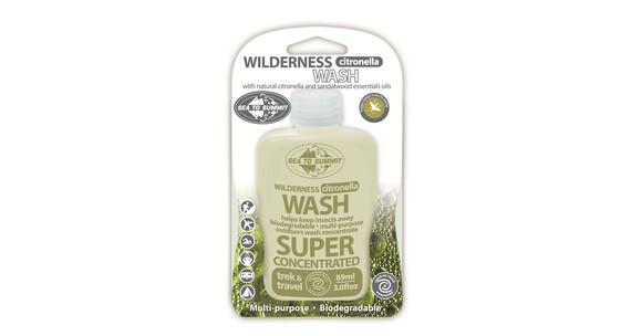 Sea to Summit Wilderness Easy Care with Citronella 250 ml transparent